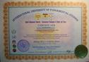 Сертификата сотрудника Системы Питак О.Я.